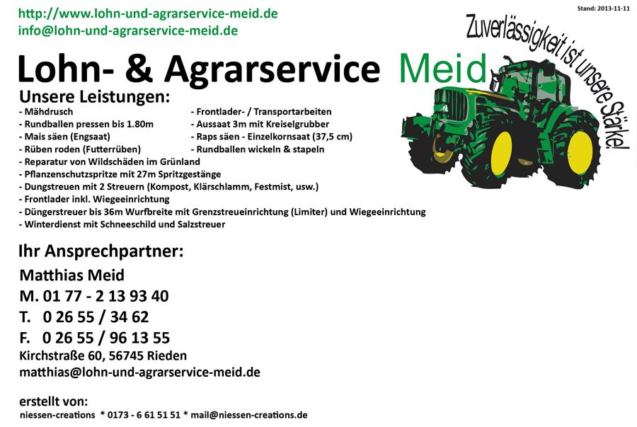 Lohn-& Agrarservice Meid